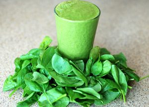 Green Smoothie mit Feldsalat