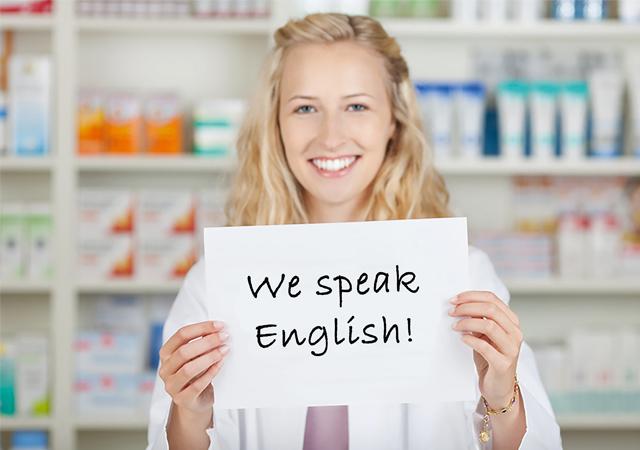 Englisch in der Apotheke
