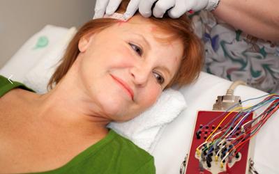 Epilepsie-Patient