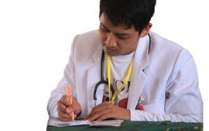 Verordnung vom Arzt