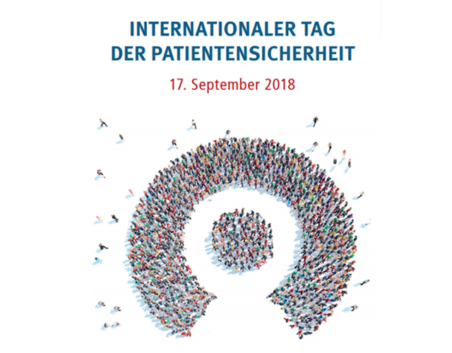 Internationaler Tag der Patientensicherheit 2018
