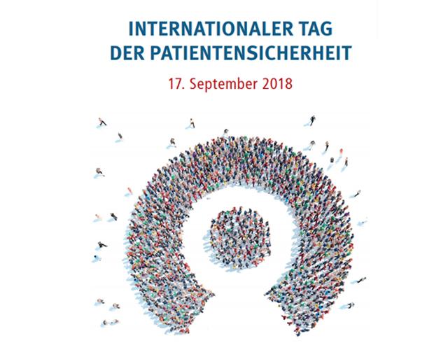 Internationaler Tag der Patientensicherheit 2018